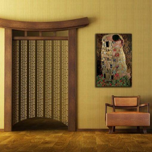 obraz pocałunek Klimt