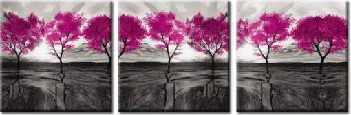 obraz tryptyk drzewa
