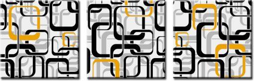 obraz tryptyk kwadraty