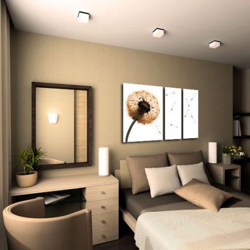 obraz tryptyk do sypialni