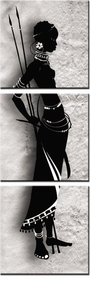 obraz tryptyk masajka