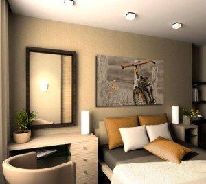 obraz rower w sepii