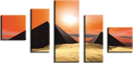 kaskada piasek i piramidy