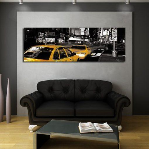 obrazy z taksówkami