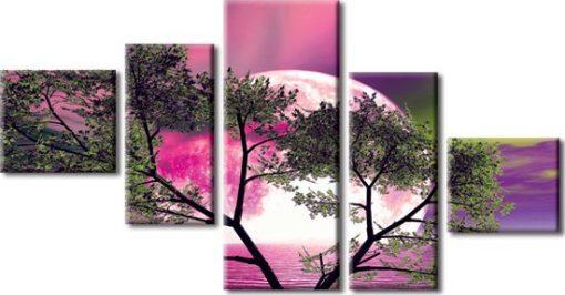 kaskady z drzewem