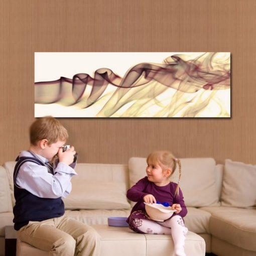 obraz z abstrakcją