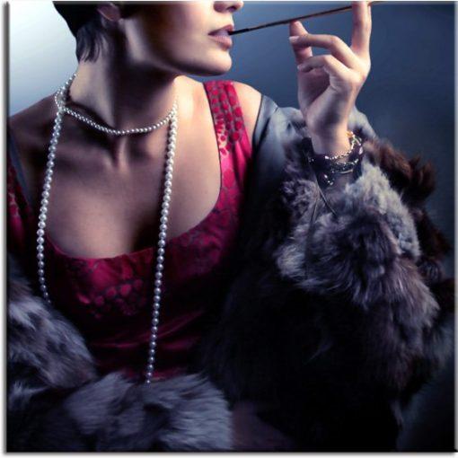 obraz elegancka kobieta