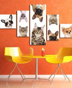 obraz z zwierzętami