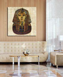 obraz z egipskim Faraonem
