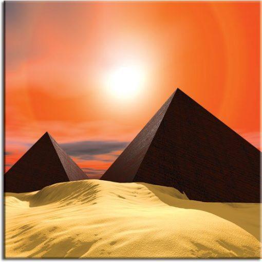obrazy z piramidami