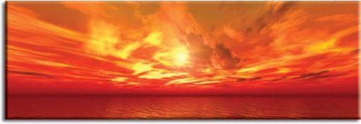 obraz widok nad morzem