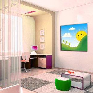 obrazy z słońcem do pokoju dziecka
