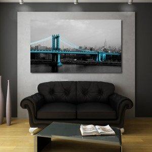 obrazy na płótnie most