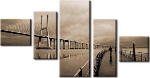 kaskady z mostami