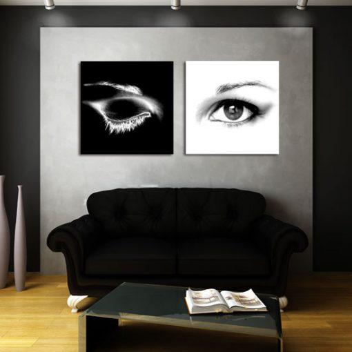 ozdoby z oczami