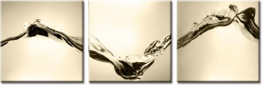 woda na obrazie