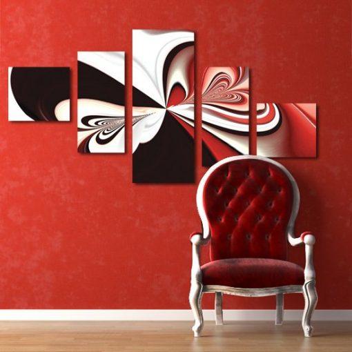 dekoracje z motylem