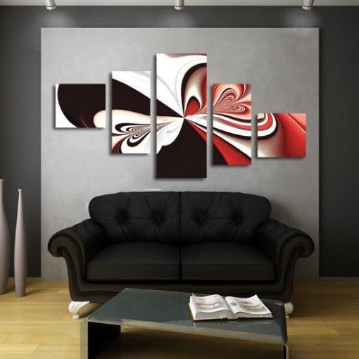 abstrakcyjny motyl