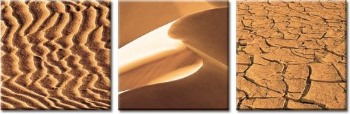 tryptyki z piaskiem