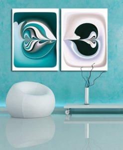 dekoracja z symetria