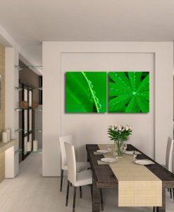 zielone ozdoby