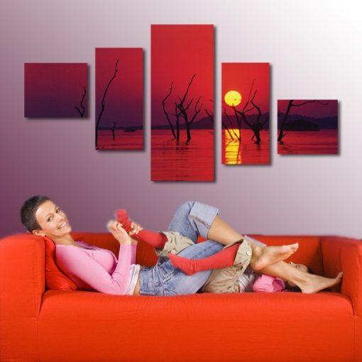 czerwone obrazy