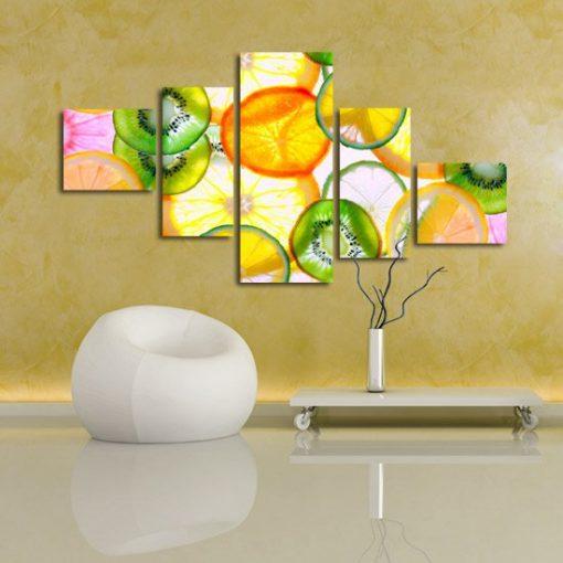 dekoracje z cytrusami