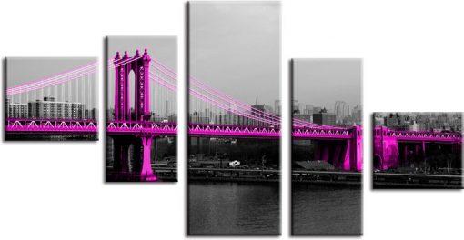 kaskada z mostem