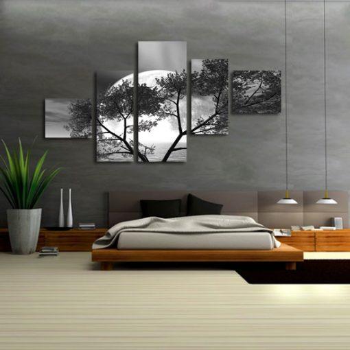dekoracje z krajobrazami