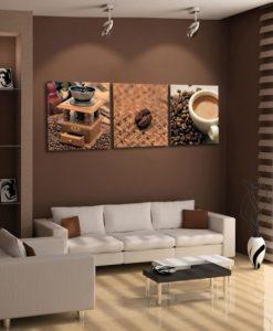 obrazy na płótnie kawa