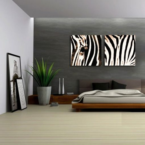 dyptyki z zebrą