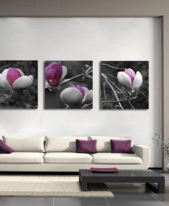 dekoracje z magnolią