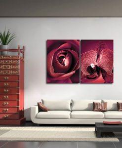 obraz z orchideą