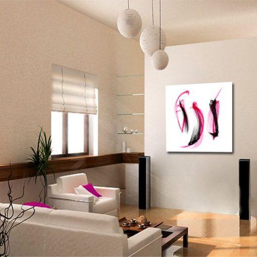 dekoracje z abstralcją