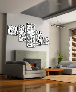 dekoracje z literami