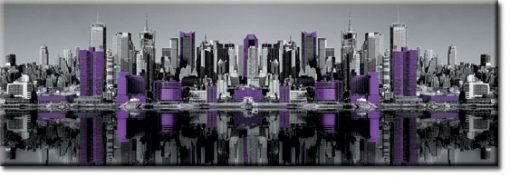 panorama z Manhattanem