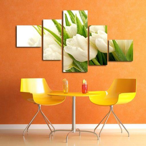 ozdoby z tulipanami