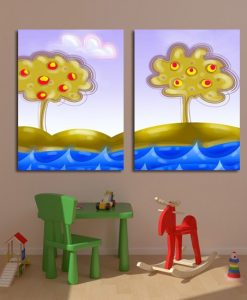 obrazki bajkowe drzewka