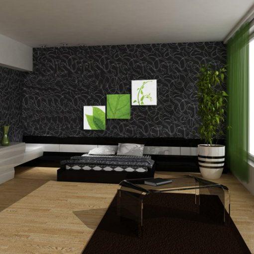 dekoracje na zielono