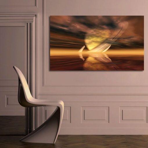 dekoracje z Saturnem