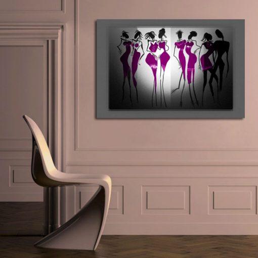 dekoracje z kobietami