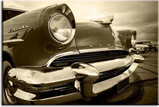 obrazy z samochodem