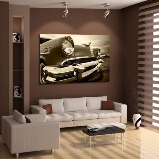 dekoracja z autem