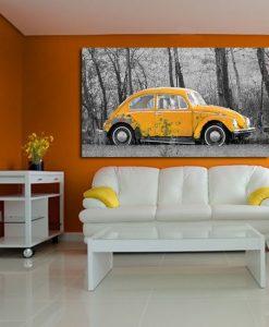 dekoracja z samochodami