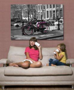 obrazy z rowerami