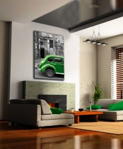 dekoracje z samochodami