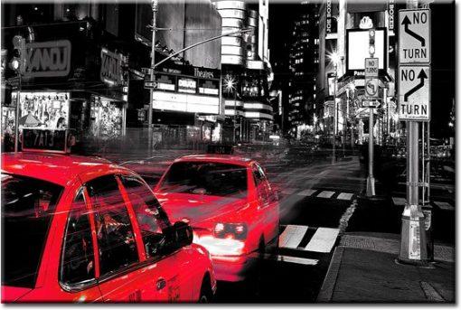 obraz z ulicą