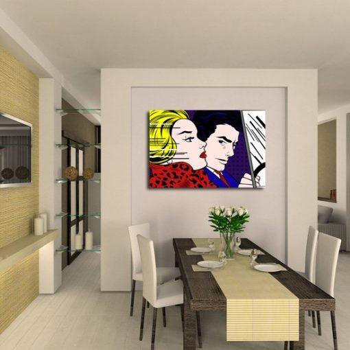 dekoracje pop-art