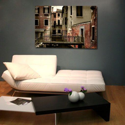 obrazy z domami
