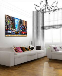 Obrazy na płótnie z miastami
